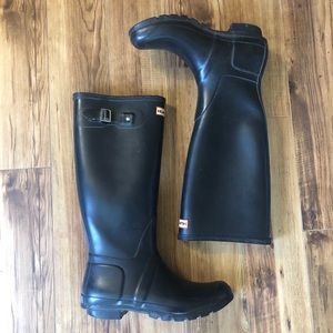 Hunter Original Waterproof Tall Black Boots